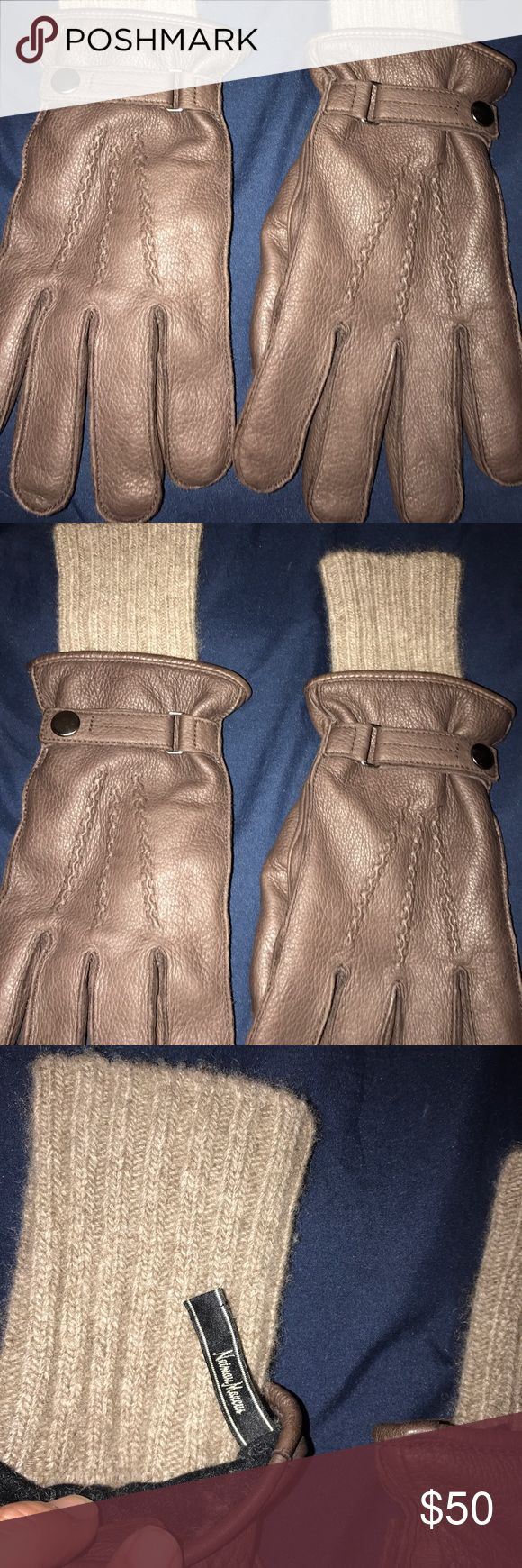 Mens gloves knitting pattern - Men S Gloves Men S Leather Gloves Never Used In Excellent Condition Nieman Marcus Accessories Gloves