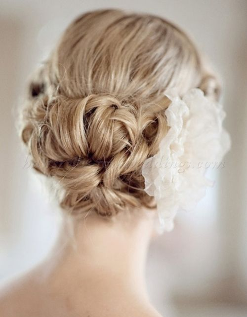Chignon Wedding Hairstyles Low Bun