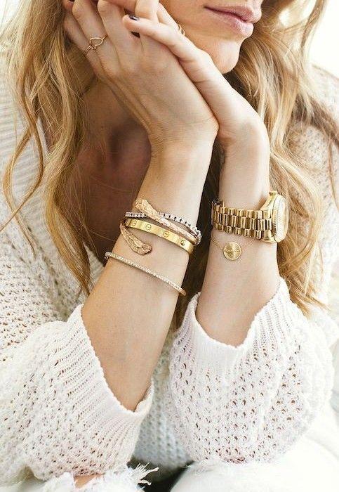 beautiful gold jewels