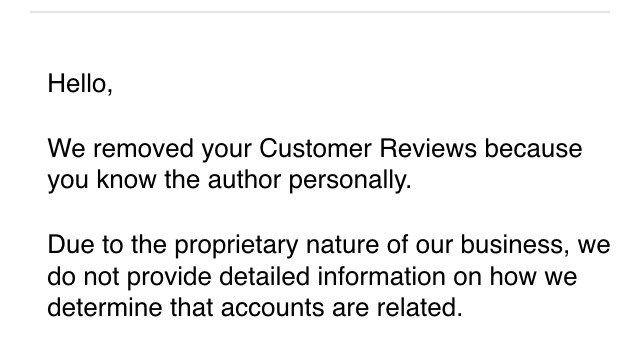 "Sponsor Amazon.com, Amazon: Change the ""You Know This Author"" Policy"
