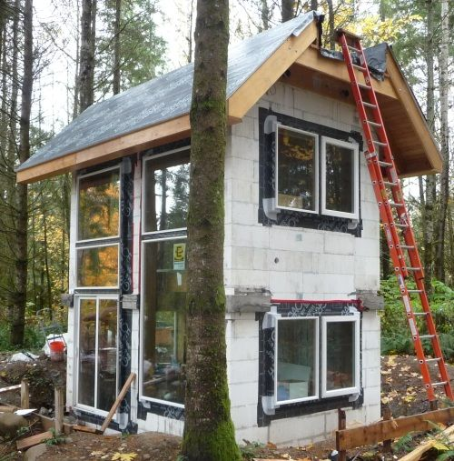 Flashing windows in icf walls practice and products for Icf home kits