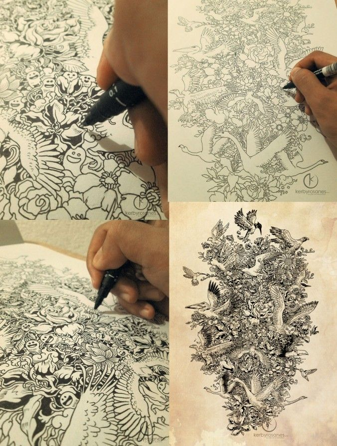 34 best images about kerby rosanes on pinterest for Disegnare progetti