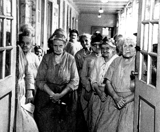 My Great-great-great grandmother ended her days as an inmate of Windsor workhouse. Born in the early 1800's she ran a pub until she was well into her eighties. But when you were too old to work and support yourself and your family couldn't support you, this was your only option.