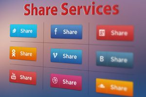Добавление / Установка скрипта кнопок социальных сетей на сайте — Поделиться / Share — БЕЗ плагинов. Обзор сервисов