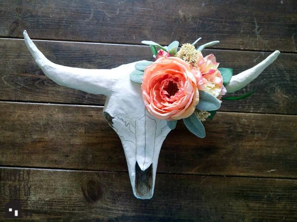 »New Love {Faux Taxidermy + Floral} DIY  Lovely Crafty Home