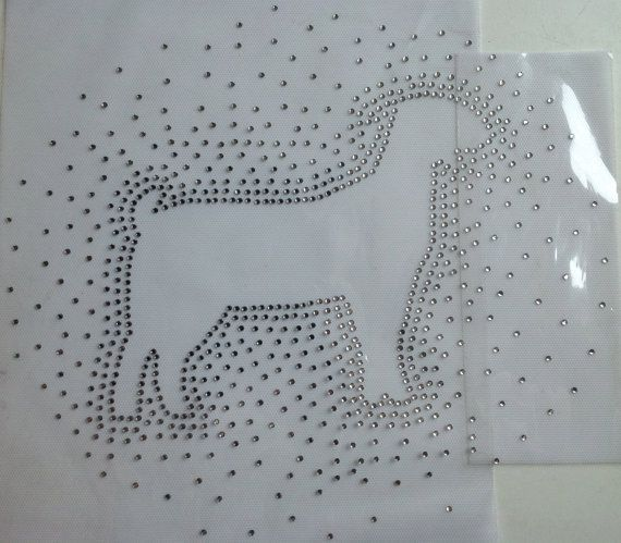 DIY Livestock Show Girl Boer Goat Bling by BurtonLeatherCo on Etsy, $10.00. I WANT THIS ON THE BACK OF MY SHOW SHIRTS!!