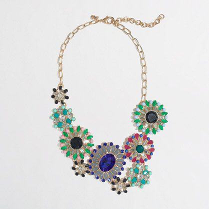 Factory stone bloom necklace