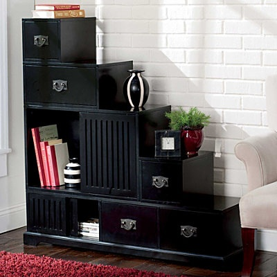 Stafford Reversible Tansu Step Chest | Sliding Door, Clutter And Chest  Furniture