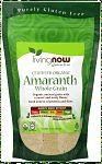 Organic Amaranth Grain - 1 lb. | NOW Brand Vitamins and Supplements