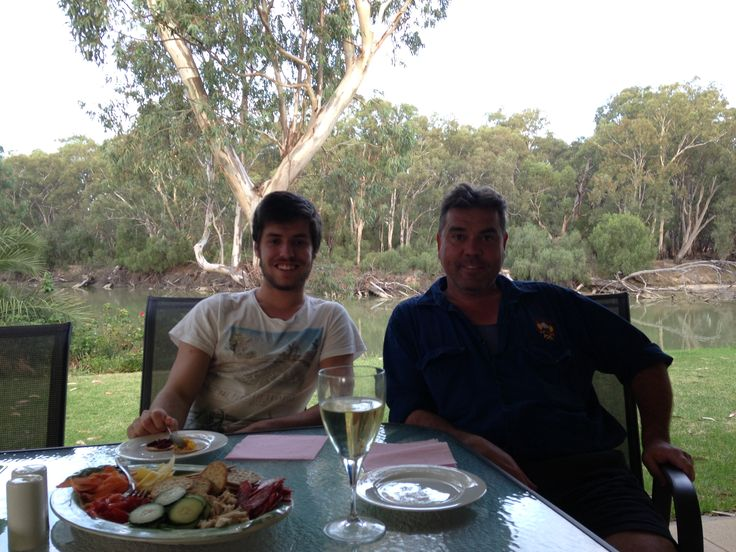 Nic & Richard in Hay