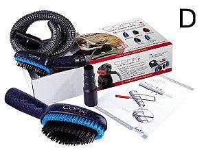 Schnellere und gründlichere Fellpflege mit der Cofix Hundebürste für Langhaar-Hunde. Saugt lose Haare, Schmutz, Gerüche Schuppen und Parasiten sofort weg.