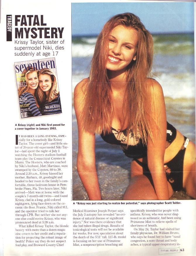 Krissy and Niki Taylor - My personal collection
