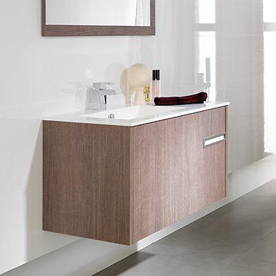 Porcelanosa urban vanity powder room grove pinterest for Bathroom cabinets urban ladder