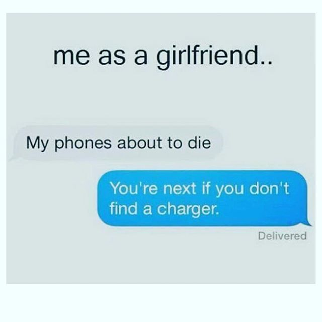Tag your psycho girlfriends  @some_psycho_girlfriend …