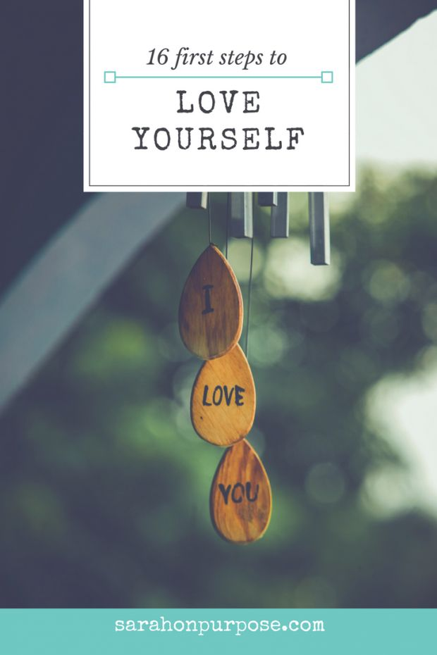 Pick one or two of these things. Do it once… and then repeat. Again and again and again. Build up your self love muscles.