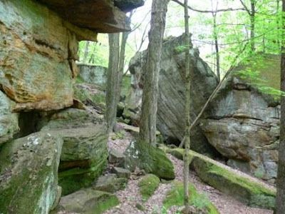 Hemlock Gorge Trail Mohican State Forest, Ohio