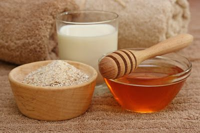 Mascarilla casera para el acne de avena y miel