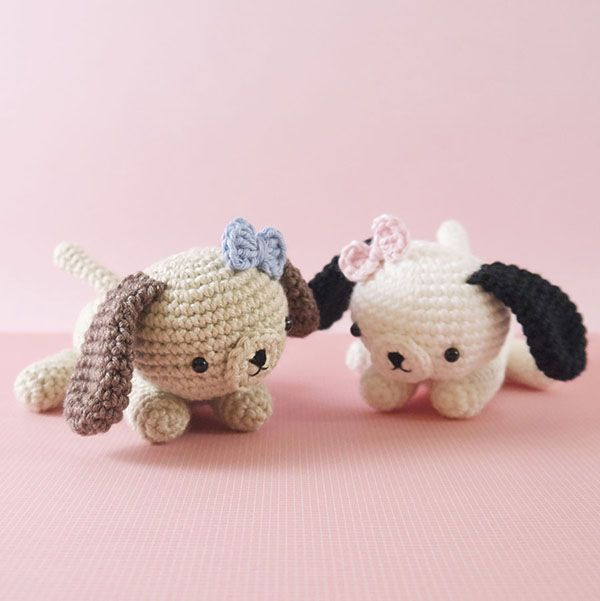 Amigurumi Pug Dog Pattern : 17 best images about amigurumi dogs on Pinterest ...