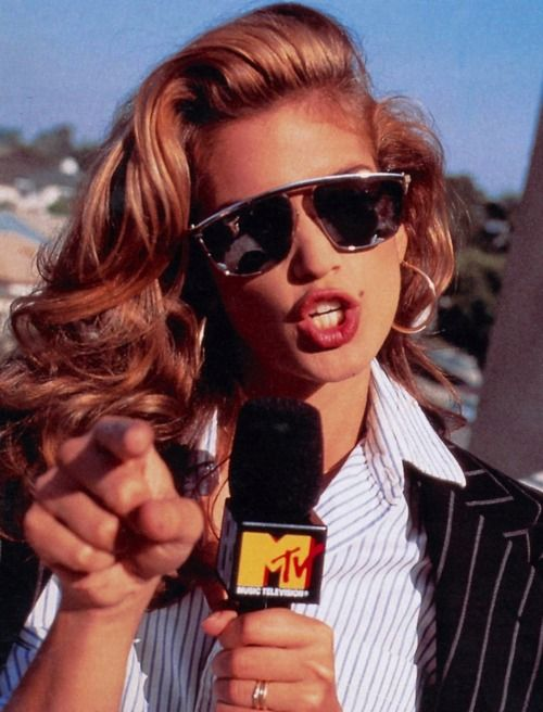 Cindy Crawford circa 1980s