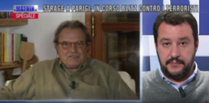 """Toscani show: """"Cancellate le religioni"""", Salvini non sa ragionare"""", """"Sallusti come Hitler"""""""