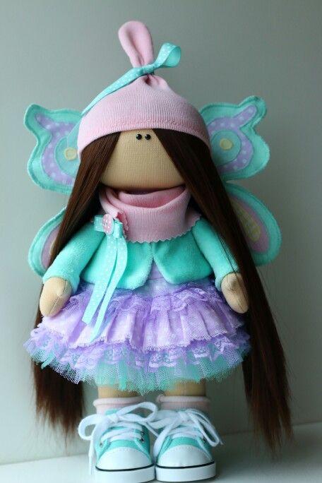 Куколка а-ля бабочка.