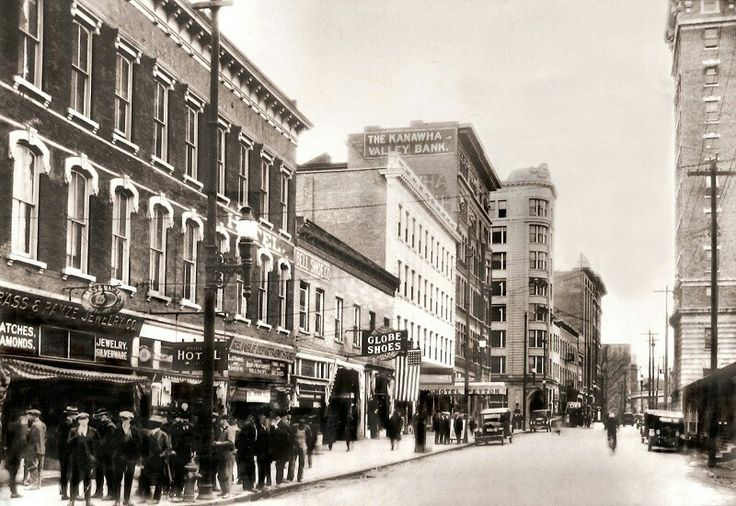 Charleston in the early 1920s virginia travel west