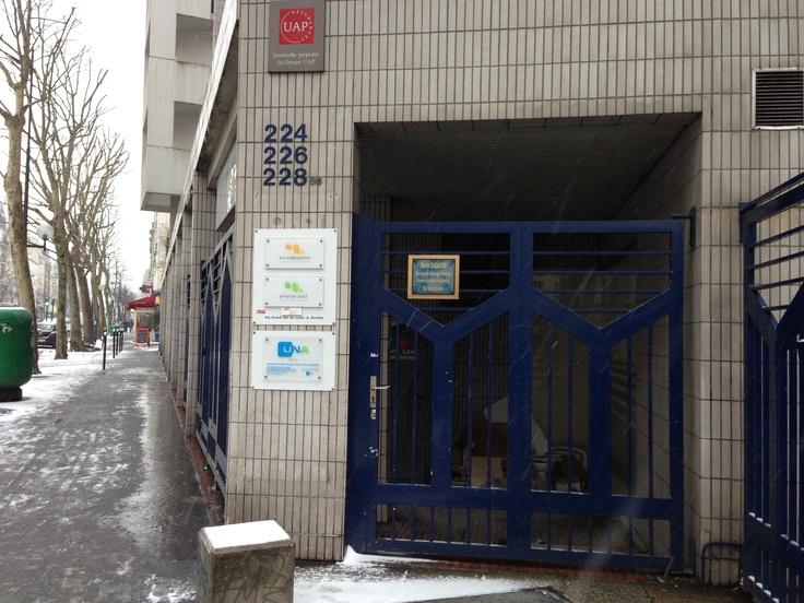 Voici l'entrée du Cercle Nation qui ouvrira ses portes en Mai 2013, votre nouvelle salle de sport sera située à quelques minutes de la place de la nation à Paris. www.cerclesdelaforme.com #nation #sport #clubdegym