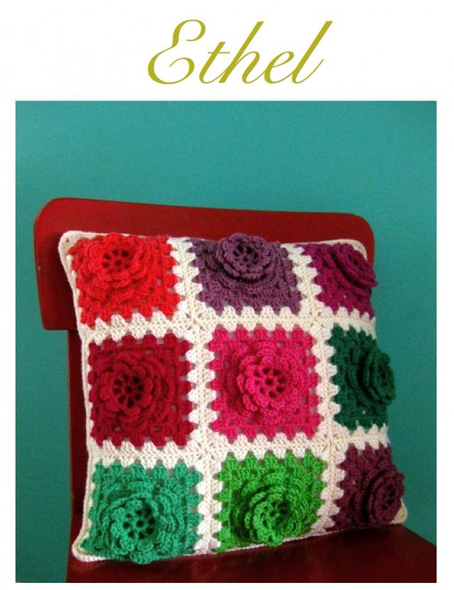 63 Best Images About Crochet Cushion Pillows On Pinterest