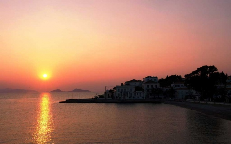 Sunset in Spetses