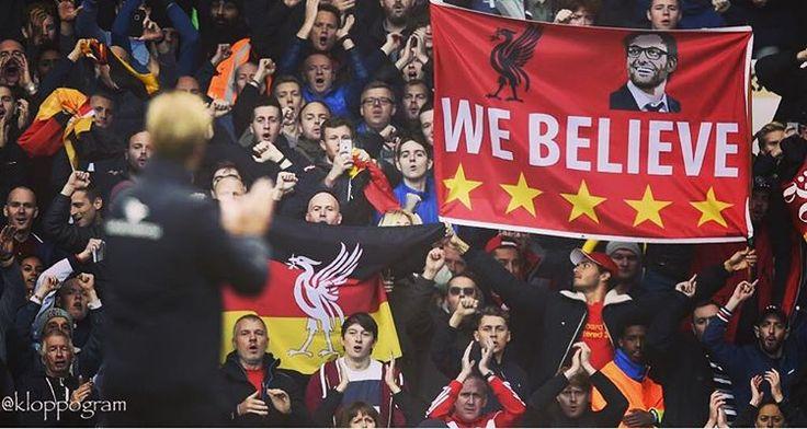#WeBelieve , #Boss #Liverpool #lfc #lfcfamily #ynwa #klopplfc #klopp #thenormalone