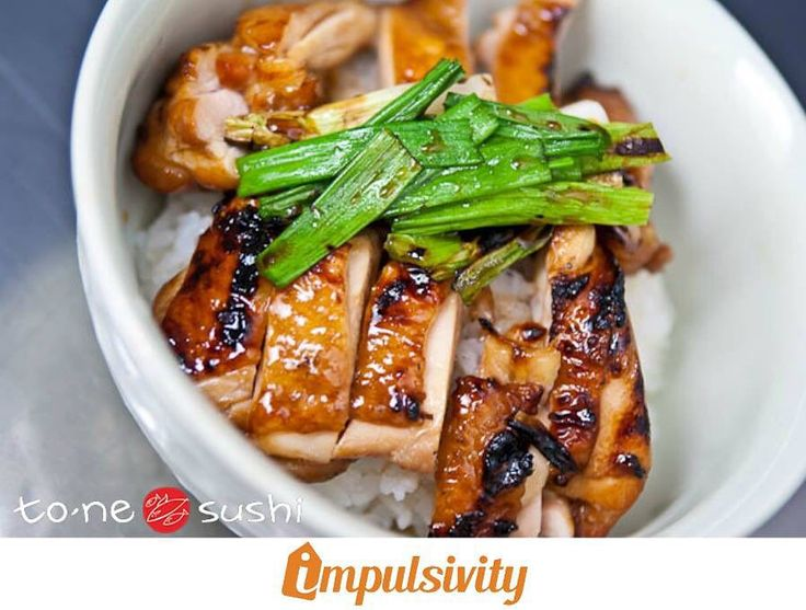 Come to @ToneSushi and enjoy chicken teriyaki lunch special for only $8.5!  Find this deal and many others on your #ImpulsivityApp.  Download it for FREE at the AppStore & Google Play.  #Toronto #ImpulsivityDeal