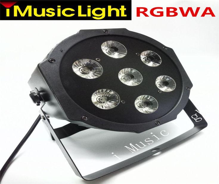 4 Teile/los Led Par Dosen 7x15 Watt RGBWA 5in1 Professionelle Bühnenlicht  DMX512 Partei Lichter
