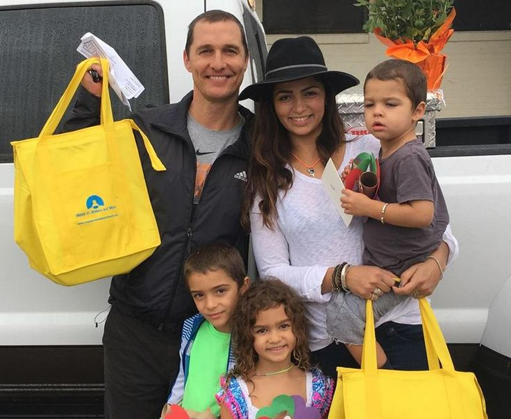 Meet Oscar Winning Actor Matthew McConaughey and his sweet family