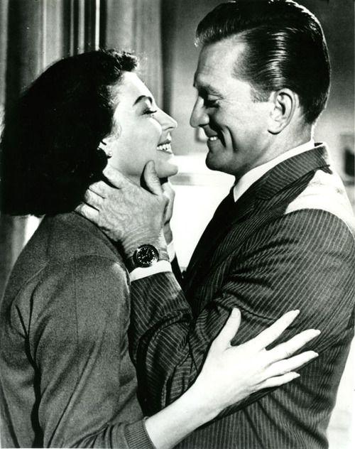 Ava Gardner and Kirk Douglas