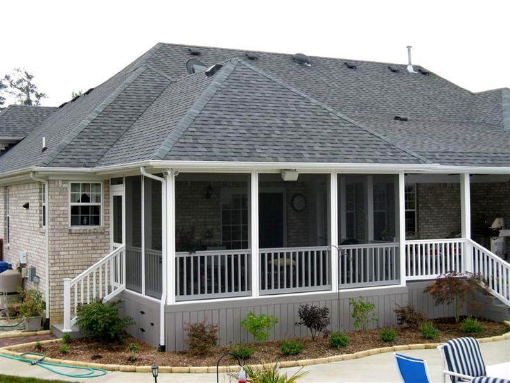 71 best screen porch/deck ideas images on pinterest | balcony ... - Screen Patio Ideas