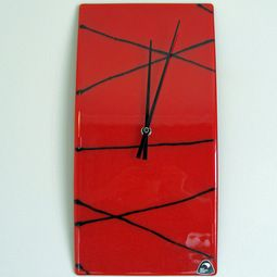 Stunning modern art glass clocks, hand made in New Zealand http://www.newzealandshowcase.com/productdetails.cfm/productid/678