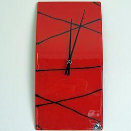 Stunning modern art glass clocks, hand made in New Zealand http://www.newzealandshowcase.com/productdetails.cfm/productid/678