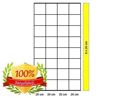 Siatka leśna - 160/9/20 L/K20 - rolka 25 m