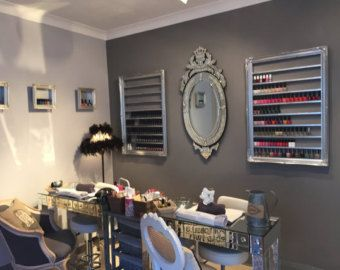Nail polish rack for OPI CND Gelish Orly nail by ChicybeeDisplayUK