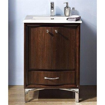"""Buy Fairmont Designs Seascape 24"""" Vanity - Whiskey at ModernBathroom.com. Get free shipping and factory-direct savings on Fairmont Designs Seascape 24"""" Vanity - Whiskey."""