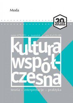 e-prasa: Kultura Współczesna – e-wydanie – 4/2013