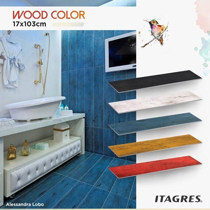 Que tal uma cor nos seus ambientes? Nossa linha Wood Color traz cores incríveis, combinam com aquela mudança que você procura. Ouse com novas composições, inspire-se com nossa linha!