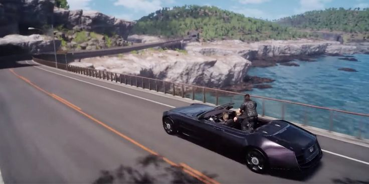 Final Fantasy 15 Gameplay Footage Shows New Features, You Car Can Run Out Of Gas, FF Team and Avalanche Studios To Team-up? - http://www.thebitbag.com/final-fantasy-15-gameplay-footage-shows-new-features-you-car-can-run-out-of-gas-ff-team-and-avalanche-studios-to-team-up/115725