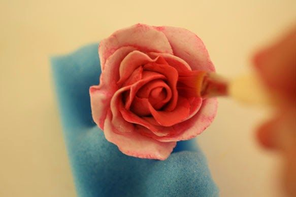 A Cake To Remember VA: How To Remove Color From Gumpaste Flowers
