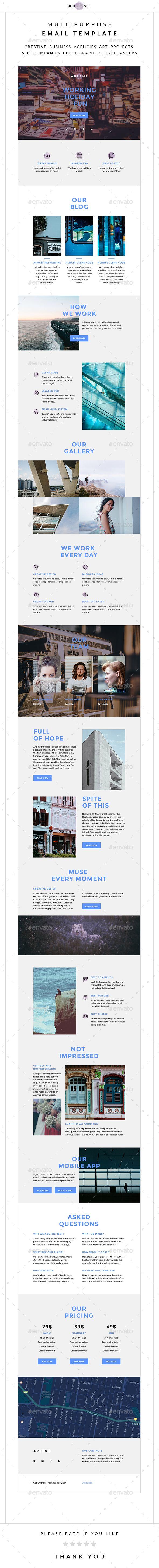 33 best E-newsletter Template images on Pinterest | Newsletter ...