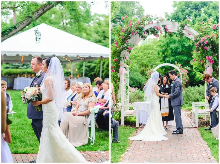 Blush Garden Wedding At Lewis Ginter Botanical In Richmond Virginia Emily Marie Photography