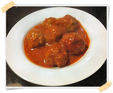 Ricetta Dukan delle polpette al sugo (crociera, pv) - http://www.lamiadietadukan.com/ricetta-dukan-polpette-sugo/  #dukan #dietadukan #ricette