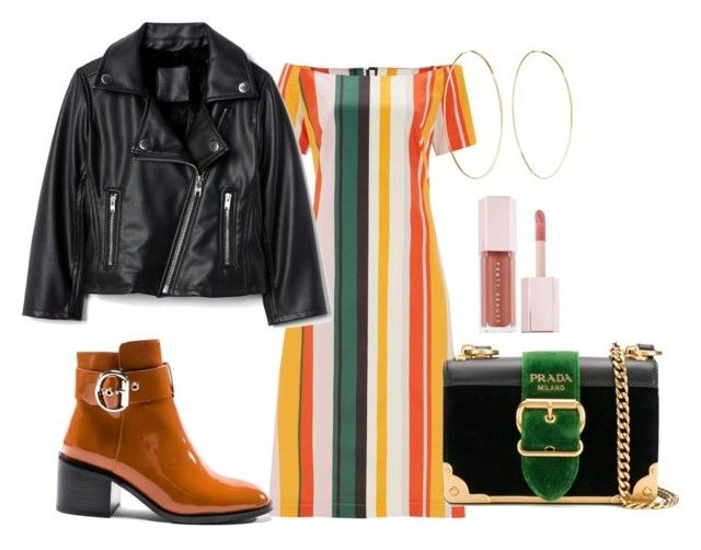 """fall"" by ksasya on Polyvore featuring Finery London, Jeffrey Campbell, Prada, Magda Butrym, Puma and vintage"