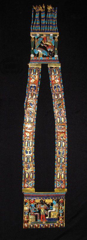 Osiris Pectoral Necklace of Tutankhamun - FJ.0001A Origin: Egypt