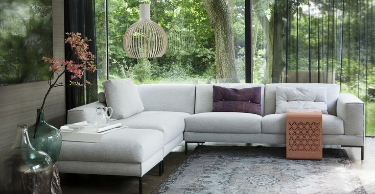 Bank Aikon 1-arm chaise longue design Marike Andeweg voor - Design on Stock